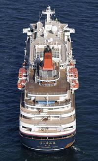 「にっぽん丸」安全委が調査 - 船が好きなんです.com