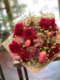 彼女に贈る花束【成人式】 - ルーシュの花仕事