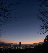 ✔ 雲海に酔う=熊本市:万日山、花岡山 - チャレンジ! 日々の散歩道