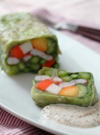 ぬか美人野菜とえびのテリーヌ - 登志子のキッチン