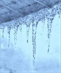 『氷柱(つらら)』 - 『ヤマセミの谿から・・・ある谷の記憶と追想』