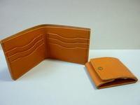 ここの【財布】は・・・かさばらず・コンパクト・薄さを追求ですね - 革小物 paddy の作品
