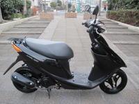 スズキV50 - バイクの横輪