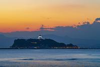 湘南海岸の夕景・夜景七里ガ浜稲村ケ崎 - エーデルワイスブログ
