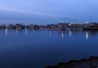 漁港の夜明け - 風の吹くまま何でもシャッター