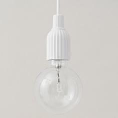 リビングの裸電球ペンダント - kukka  kukka