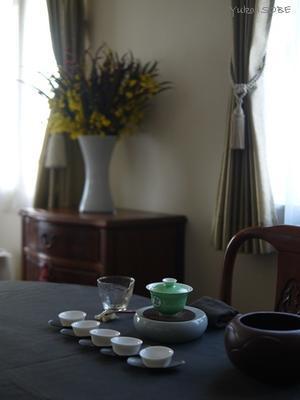 1月のおもてなしの中国茶レッスン - お茶をどうぞ♪