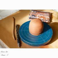 蓋物・オーブン陶土カービング今年もはじまりました。 - BEAN ART Cafe  - Mami . N -