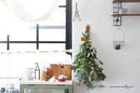 庭木のグリーンを使って0円で楽しめる簡単スワッグの作り方♪ - neige+ 手作りのある暮らし