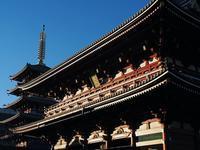 恒例の浅草寺とスカイツリー - 光の音色を聞きながら Ⅳ