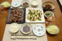 平日のちょびっとおうち焼き肉屋さん(o^^o) - おばちゃんとこのフーフー(夫婦)ごはん