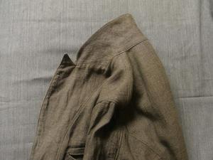 商品入荷のお知らせ / antiqued linen longjkt - のど飴日記