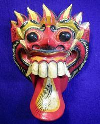 バリ島の魔除け「バロン」(壁掛け) - 軍装品・アンティーク・雑貨 展示館
