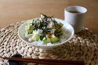 しらすアボカド丼 - カタノハナシ ~エム・エム・ヨシハシ~
