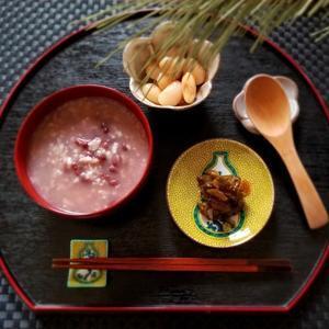 小正月の小豆粥 * アウトレットへひとっぱしり♪ - ぴきょログ~軽井沢でぐーたら生活~