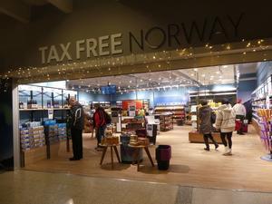 トロムソ空港の免税店 - ノルウェー北極圏の街へ