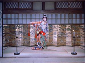 木暮実千代(Michiyo Kogure)「続・宮本武蔵 一乗寺の決闘」(1955)《前半》 - 夜ごとの美女