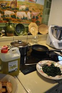 マルセイユの家庭料理教室(冬の保存食の巻きなのだ) - アルルの図書館* 旅する古道具屋