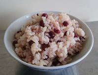 小豆入玄米おにぎりは、冬に食べて下さいね。 - 百笑通信 ブログ版