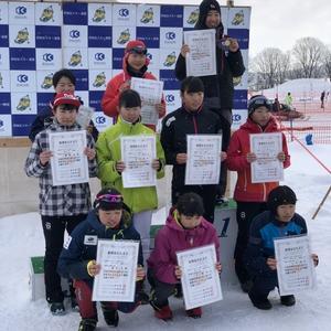 北海道中学校スキー大会で入賞 全国へ - ふらのXC