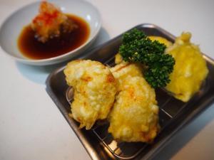 ささみの天ぷら - sobu 2