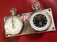 Stopwatch  HEUER  /   ラリー仕様にはダッシュボードに! - toy's