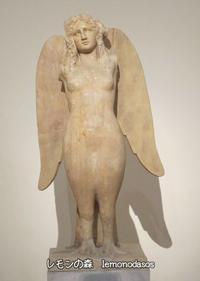ギリシャ神話のセイレーン像(紀元前330年) - 日刊ギリシャ檸檬の森 古代都市を行くタイムトラベラー