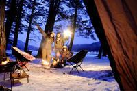 雪上キャンプ...❄︎ - muneがみた素敵