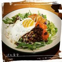 *WIRED CAFE de タコライスランチ♪* - *つばめ食堂 2nd*