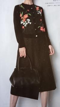1月17日、70代。冬に着る花柄が好きです(2) -   心満たされる生活