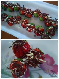 チョコがけイチゴ - 風に吹かれてフォトタイム