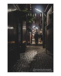 夜の石畳 - ♉ mototaurus photography