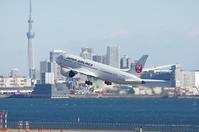 787のジェットブラスト - K's Airplane Photo Life