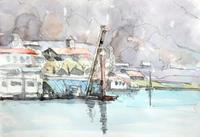 諏訪湖浚渫船 - ryuuの手習い