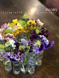 出張花教室 -  Flower and cafe 花空間 ivory (アイボリー)