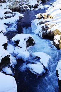 冬の湯川-2 - 自然と仲良くなれたらいいな2