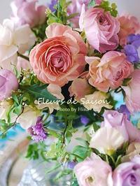 1月のお花のレッスン - Cucina ACCA