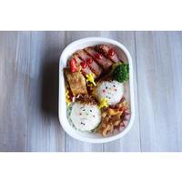 ハムカツ弁当 - cuisine18 晴れのち晴れ