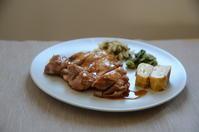 お昼ご飯〜鶏の照り焼き〜 - 料理教室 あきさんち