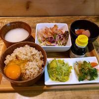 ひょうごイナカフェで玉子かけご飯ランチ - キューニーの食卓
