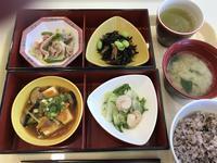 社食の健康BENTO「豆腐のオイスターソース」 - よく飲むオバチャン☆本日のメニュー