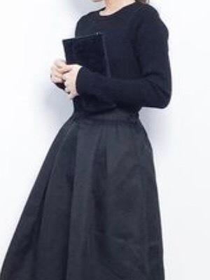 黒トップスを着た時の それぞれのパーソナルカラーの工夫点 - 中村 維子のカッコイイ50代になる為のメモブログ
