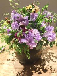 アイロニー谷口先生ジャパンツアー金沢レッスンへ - お花に囲まれて