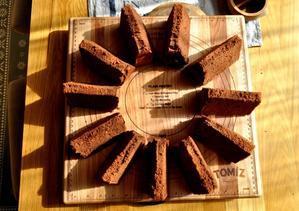 とろけるチョコシフォン - 手作りお菓子のお店「chiffon chiffon」