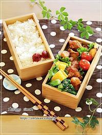 塩麹漬けからあげ弁当と豚汁♪ - ☆Happy time☆