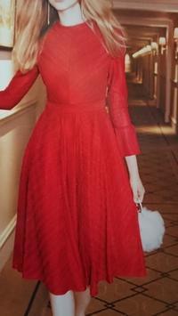 1月18日、70代。赤い洋服ってステキね -   心満たされる生活