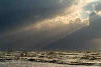 日本海波高し - デジタルで見ていた風景