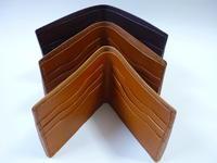 大人が持つ【二つ折り財布】・・7作品 by-fold wallets - 革小物 paddy の作品