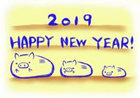 2019 - うさぴよこ にっき