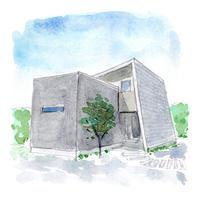 つくば市「ナナメの家」完成見学会のお知らせ - あとりえ・みんなのブログ